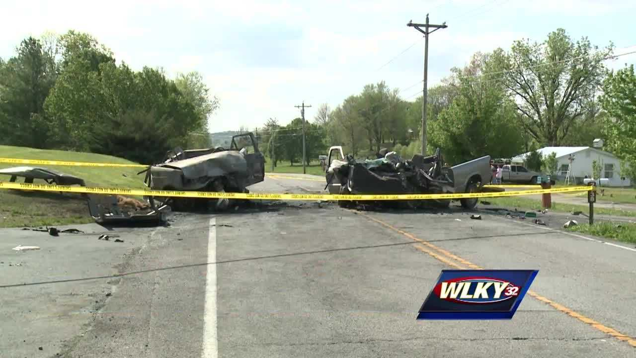 Coroner identifies 4 killed in Grayson County crash