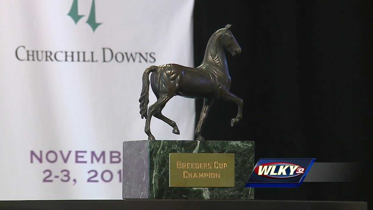 Churchill Downs will host the 35th Breeders' Cup World Championships.