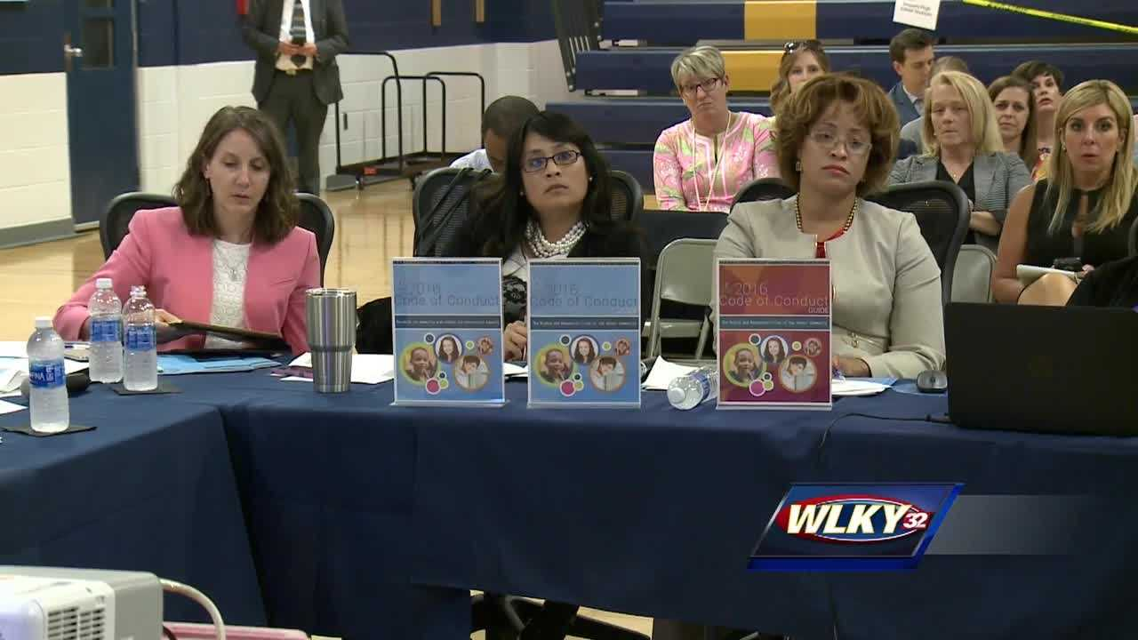 The debate on how Jefferson County Public Schools can better deal with disruptive students is over.