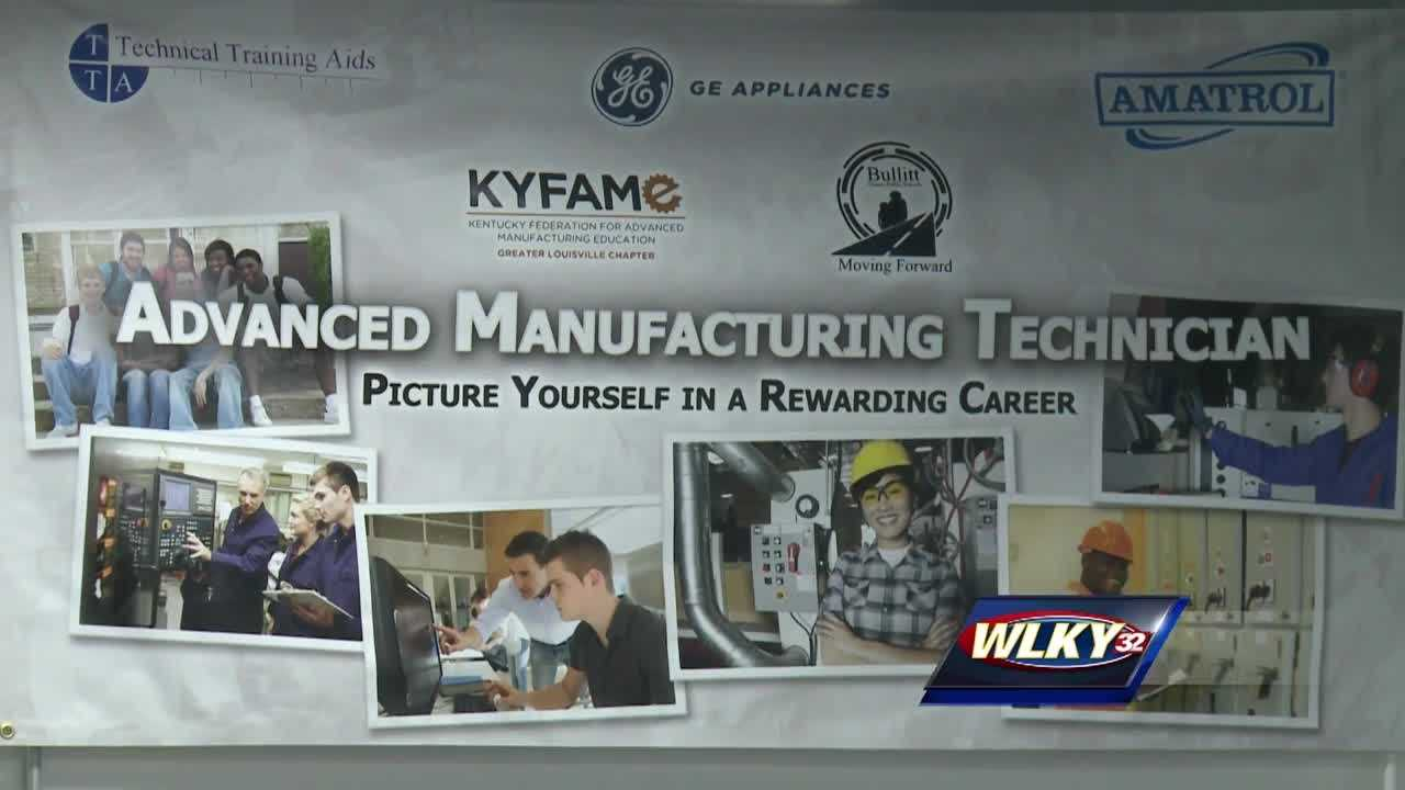 A new state-of-the-art lab opening in Bullitt County is designed to help students address a manufacturing workforce crisis.