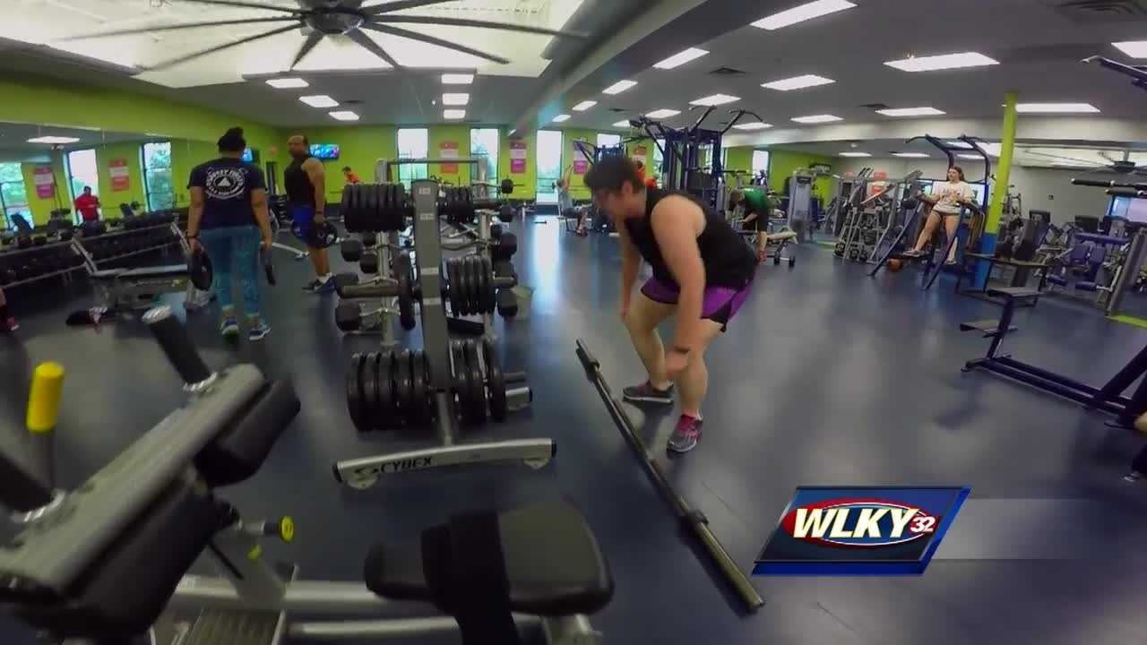 A local woman working to improve her health is using the mini-marathon to help reach her goal.