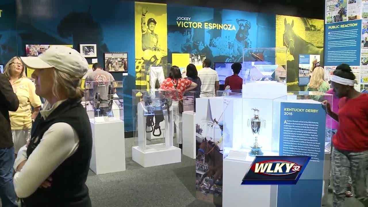 Newest Kentucky Derby Museum exhibit celebrates American Pharoah