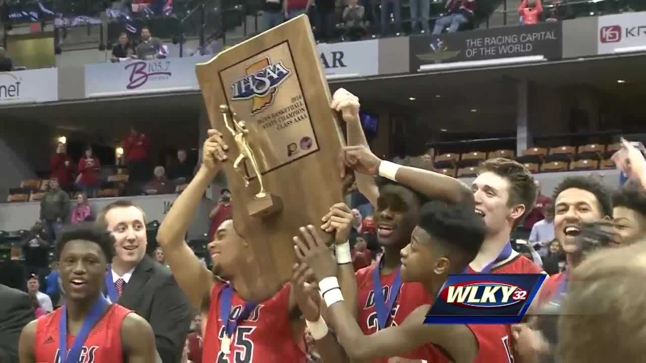 They're still basking in the glow of its first boys basketball championship since 1973.