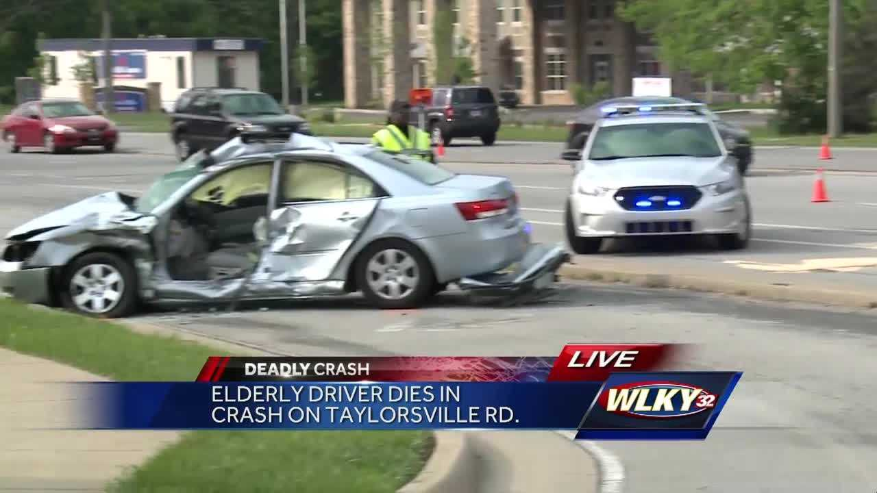 A medical emergency led to a deadly crash Wednesday in Jeffersontown.