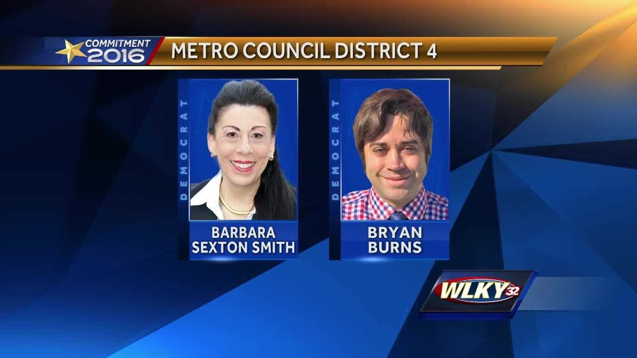 District Four seat has attracted three candidates in Tuesday's Democratic Primary.