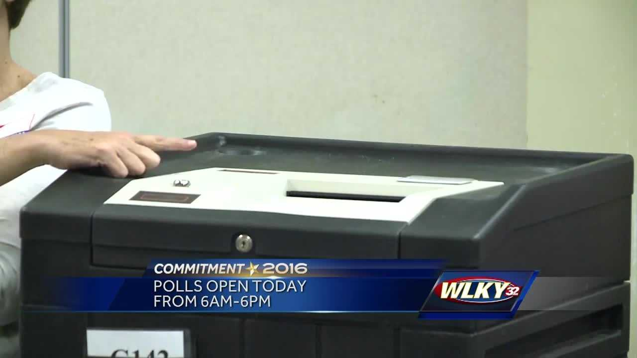 Kentucky voters are heading to the polls Tuesday.