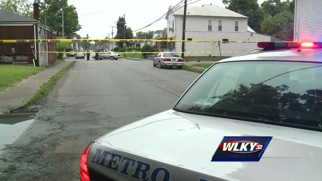 Police are investigating two shootings blocks apart in the Parkland neighborhood.