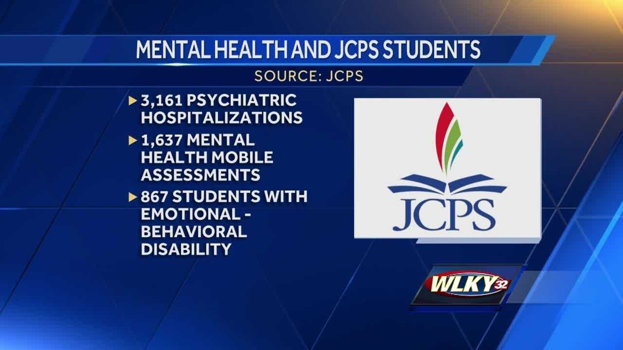 Jefferson County Public School officials said a large number of students are dealing with mental health conditions that are spilling over into the classroom.