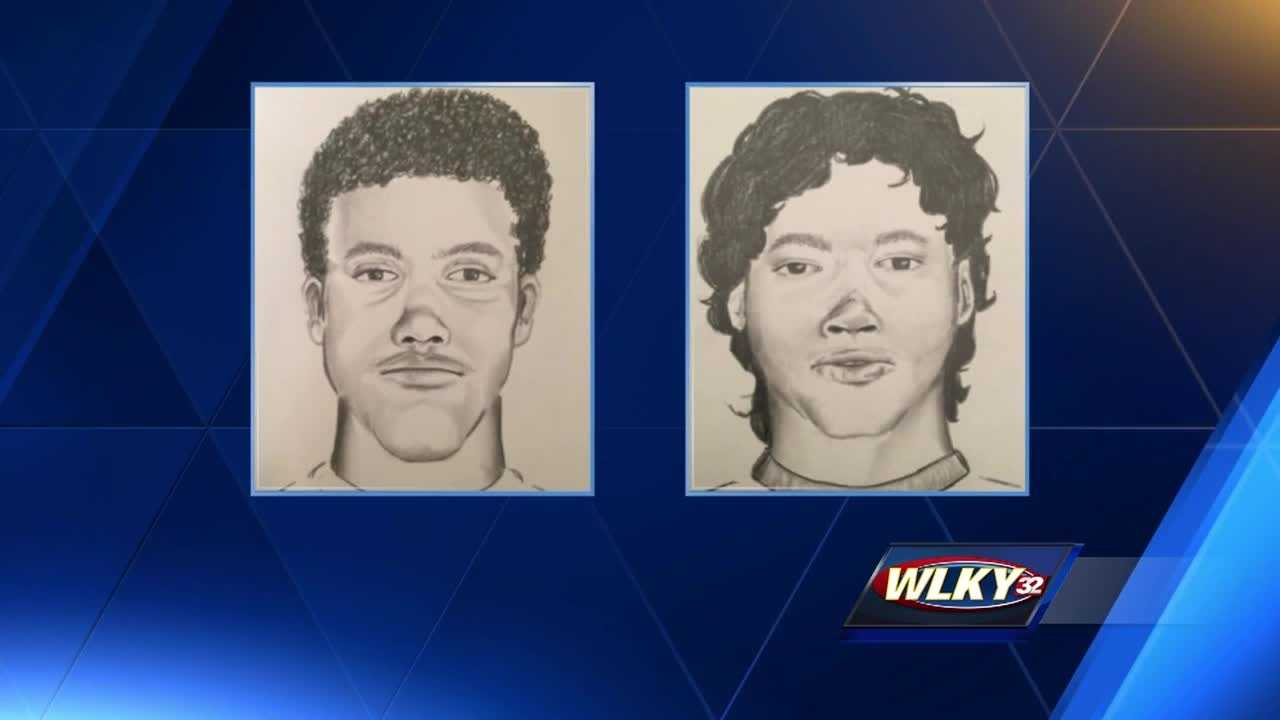 Sketches were released of the victims Monday night. Both are described as  bi-racial or Hispanic.