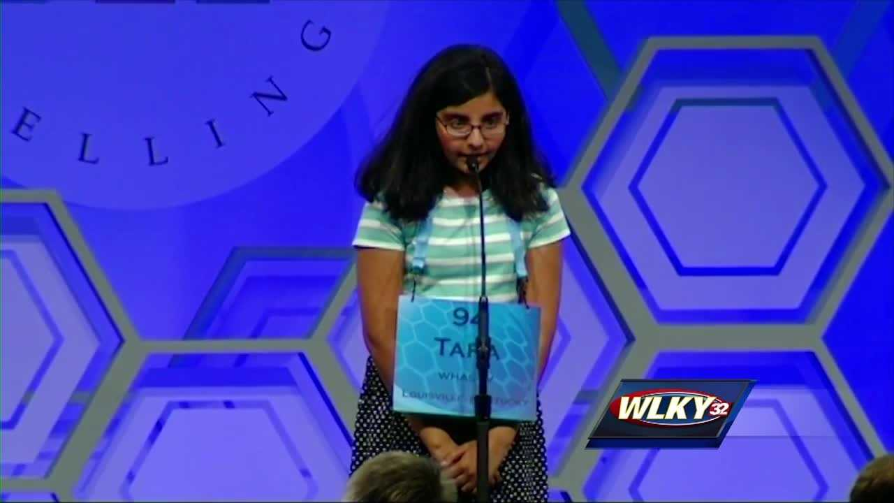 Louisville girl advances to final round of Scripps Spelling Bee