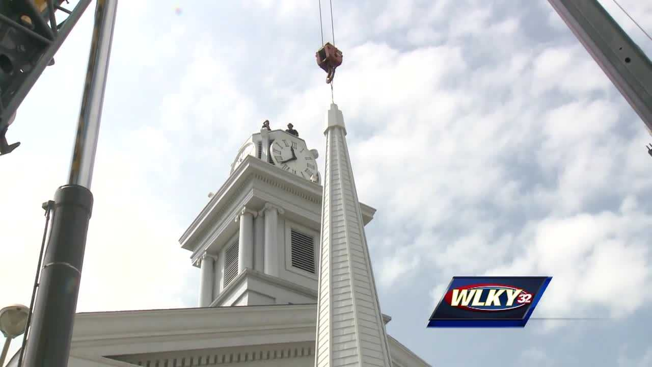 It has been years in the making: the restoration of an historic church in New Albany that served as a refuge for slaves in the 1800s.