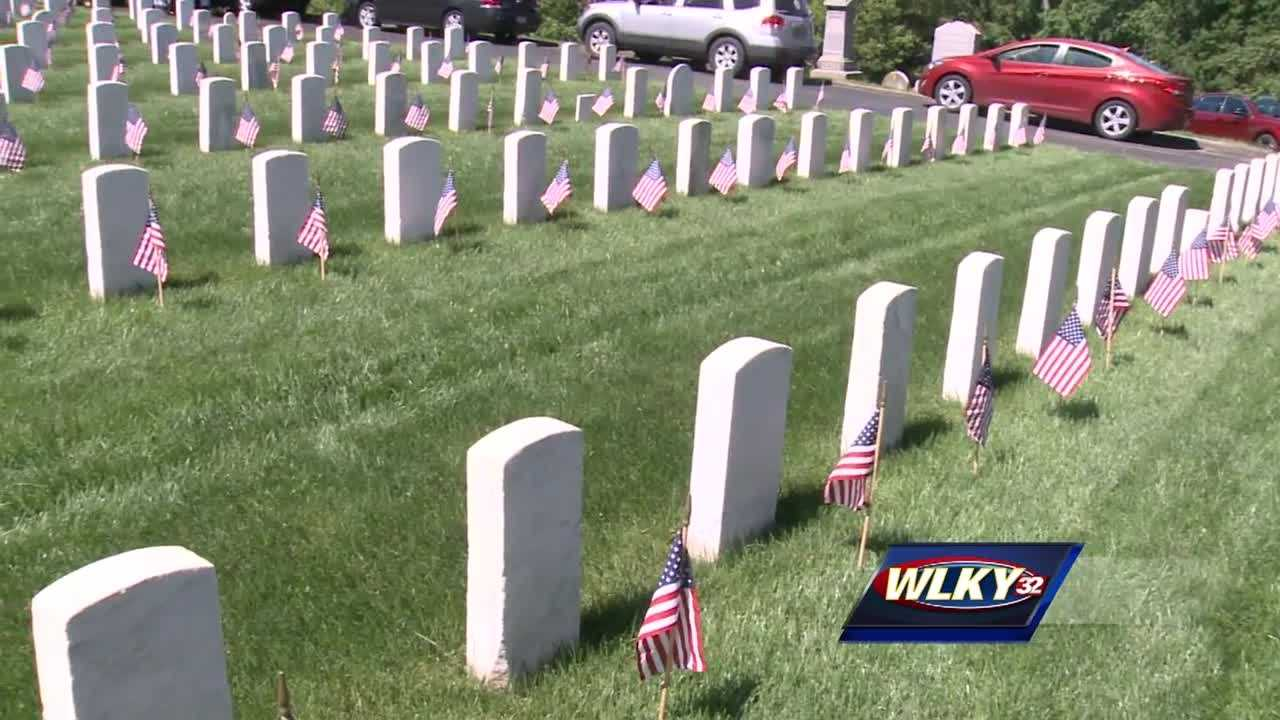 People honored and recognized local men and women who died while serving our country.