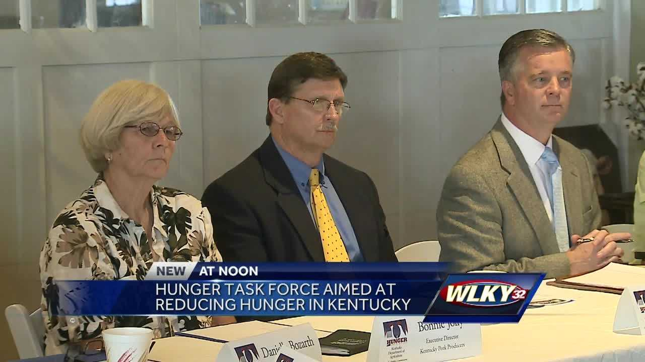 The Kentucky Department of Agriculture has formed a special task force to combat hunger across the commonwealth.