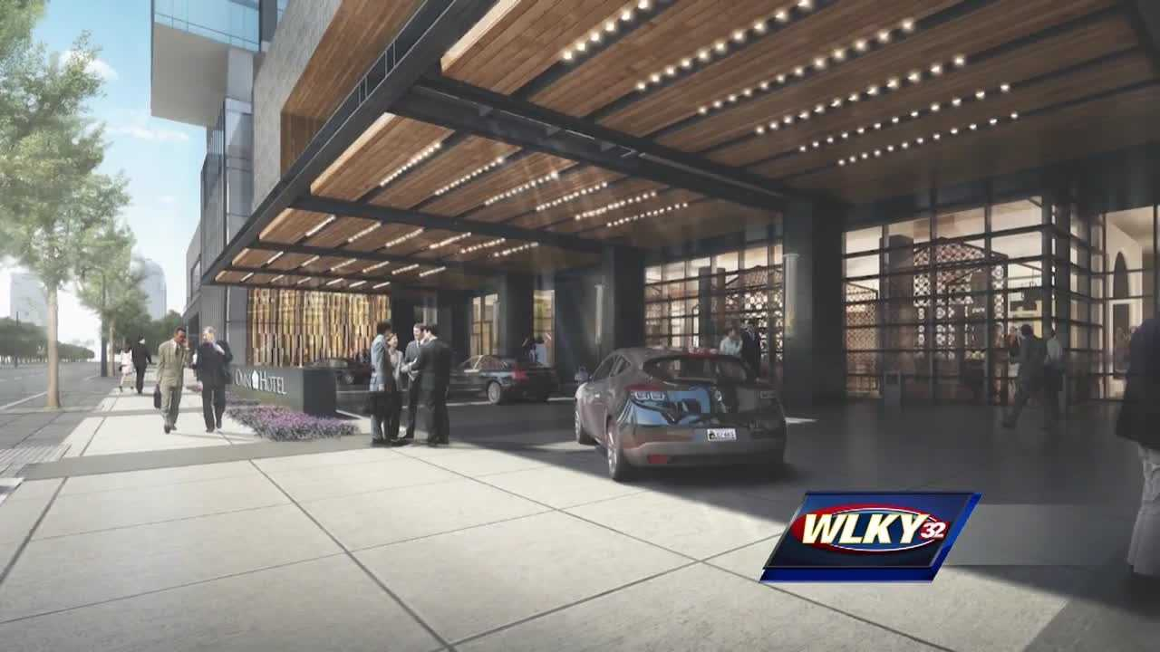 A new report analyzing Louisville's hotel market forecasts higher room rates in the years to come.