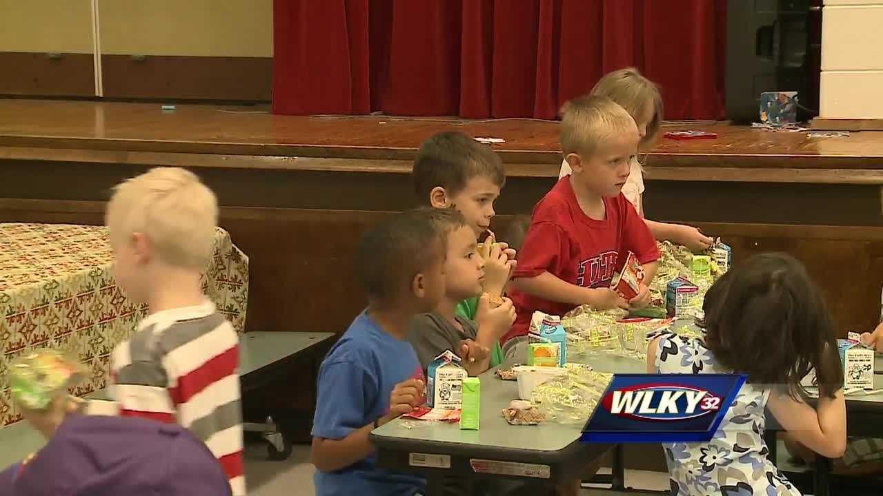 Jefferson County Public Schools' Summer Feeding Program is now underway in an effort to keep children from going hungry.