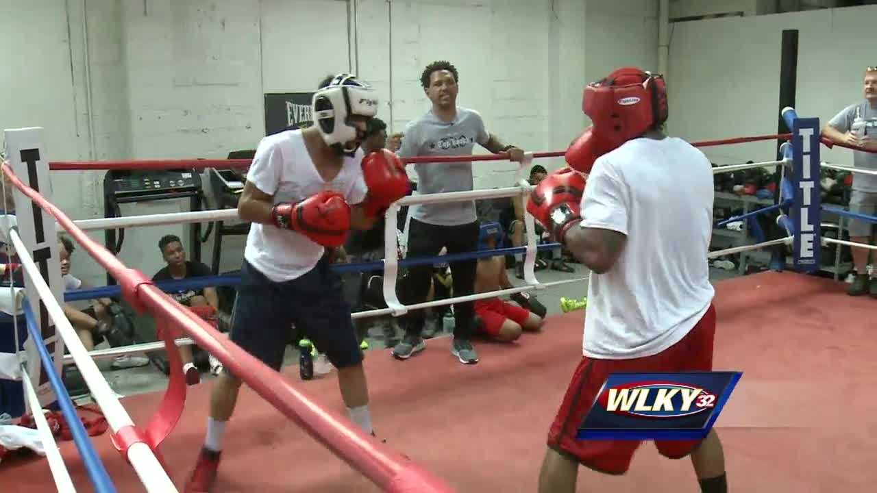 A Louisville man, inspired by the legacy of Muhammad Ali, is using his passion for boxing to keep kids off the street.