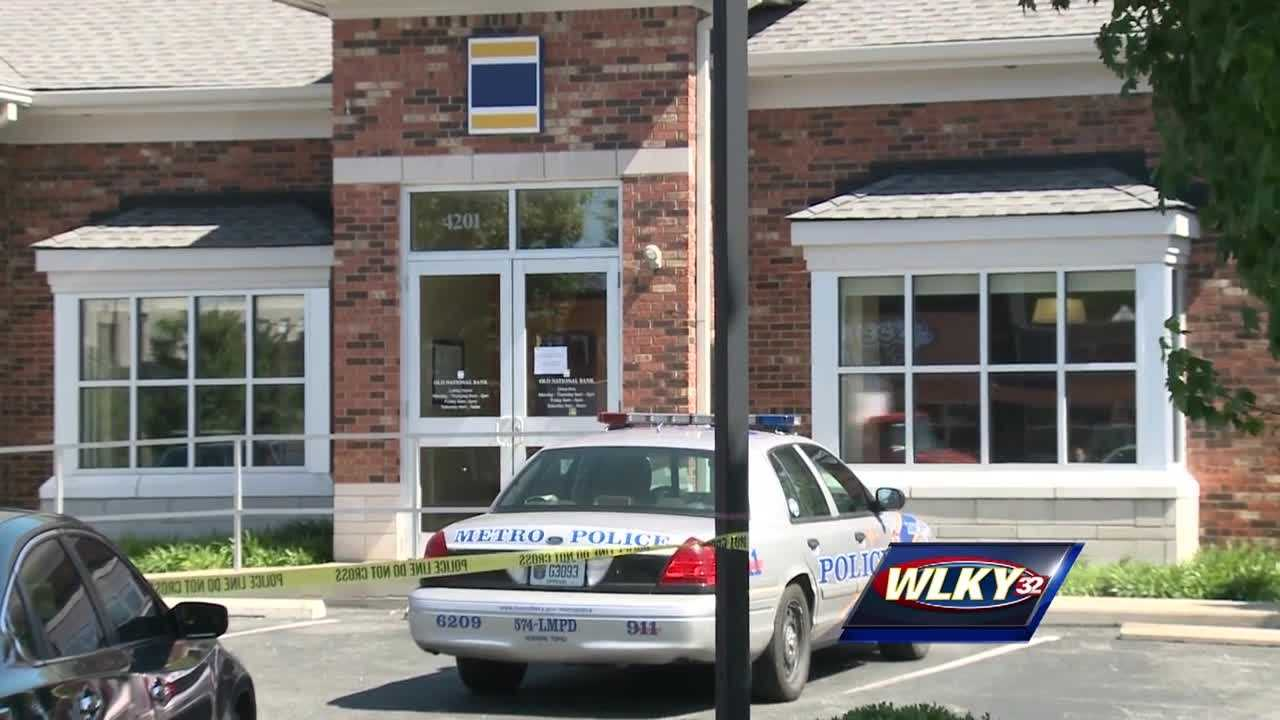 An investigation is underway after a robbery at a bank on Shelbyville Road Tuesday morning.