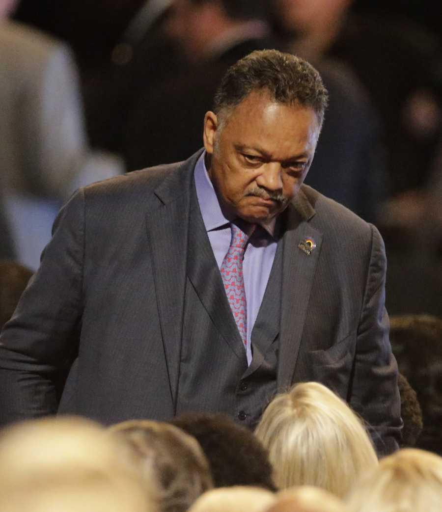 Jesse Jackson at Muhammad Ali memorial service