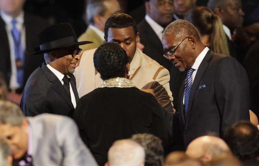 Spike Lee at Muhammad Ali memorial service