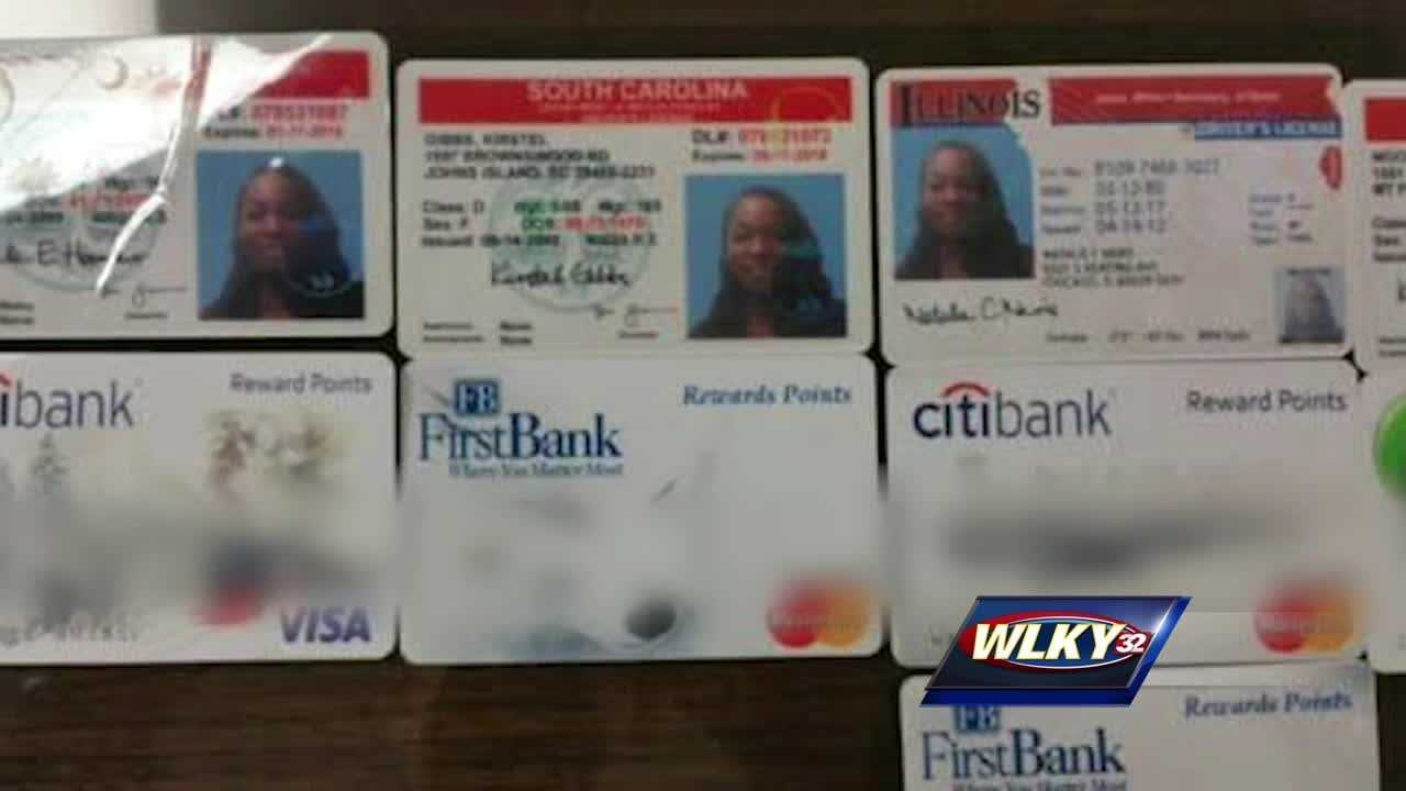 Two women face almost 100 fraud charges between them.