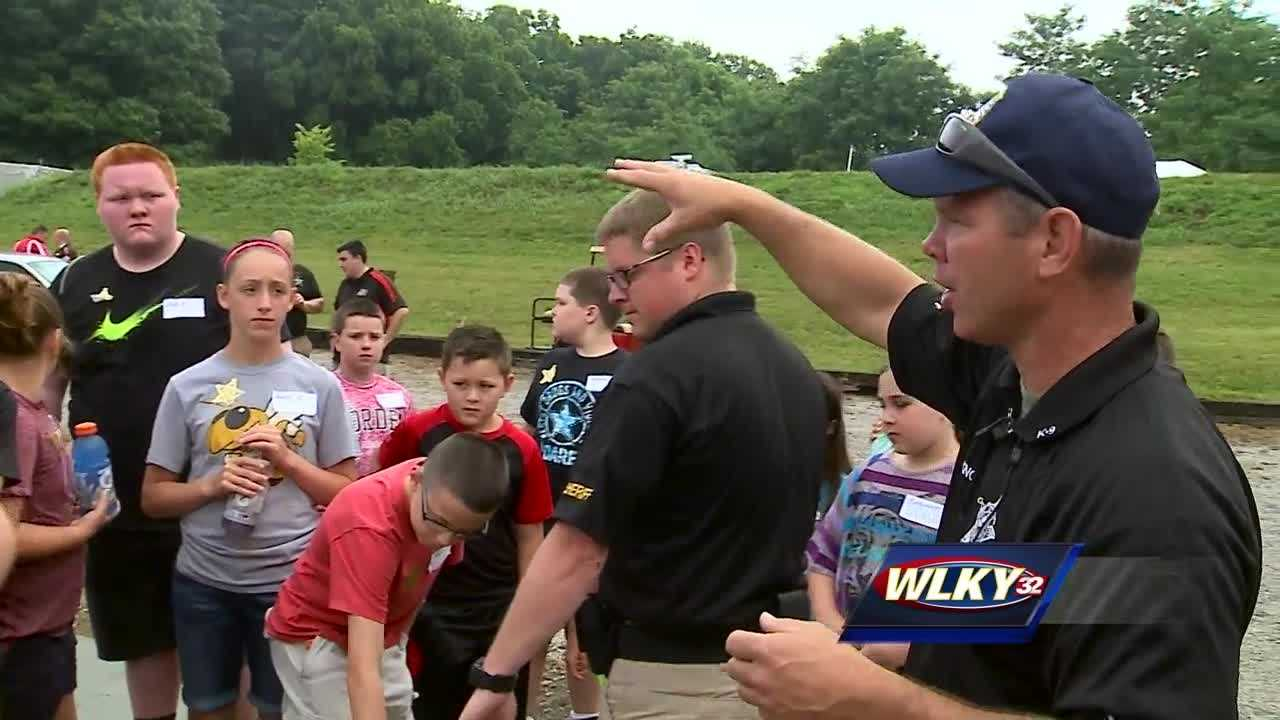 Clark County's first ever Hero's Camp wrapped up Wednesday.