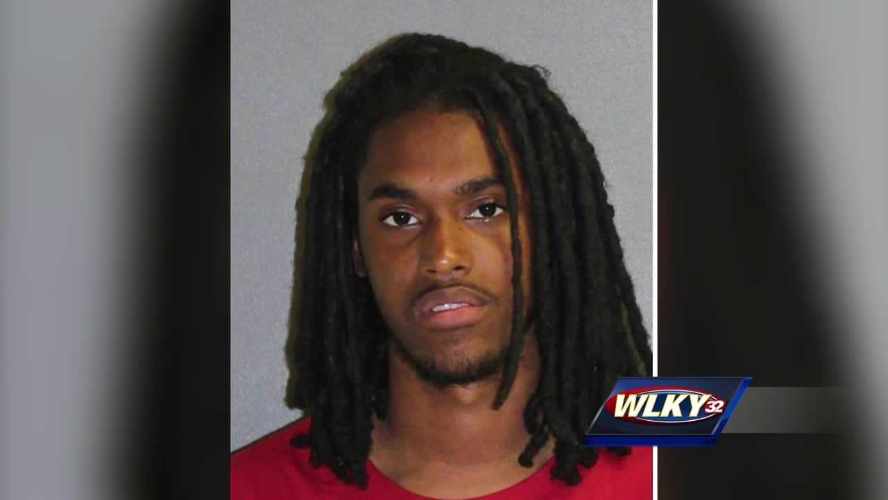 A Louisville man wanted for shooting a Louisville police officer is in custody.