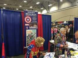 Comic book artist Allen Bellman
