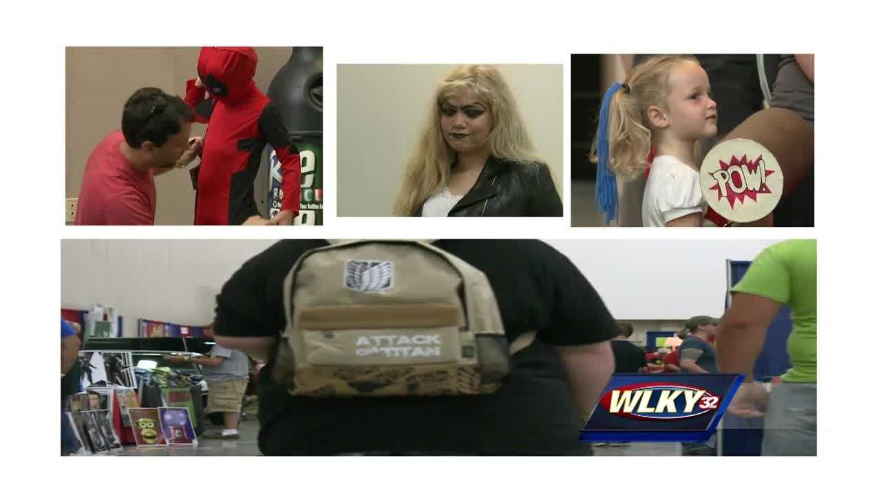The Derby Comic Con returned to the Kentucky International Convention Center Saturday.