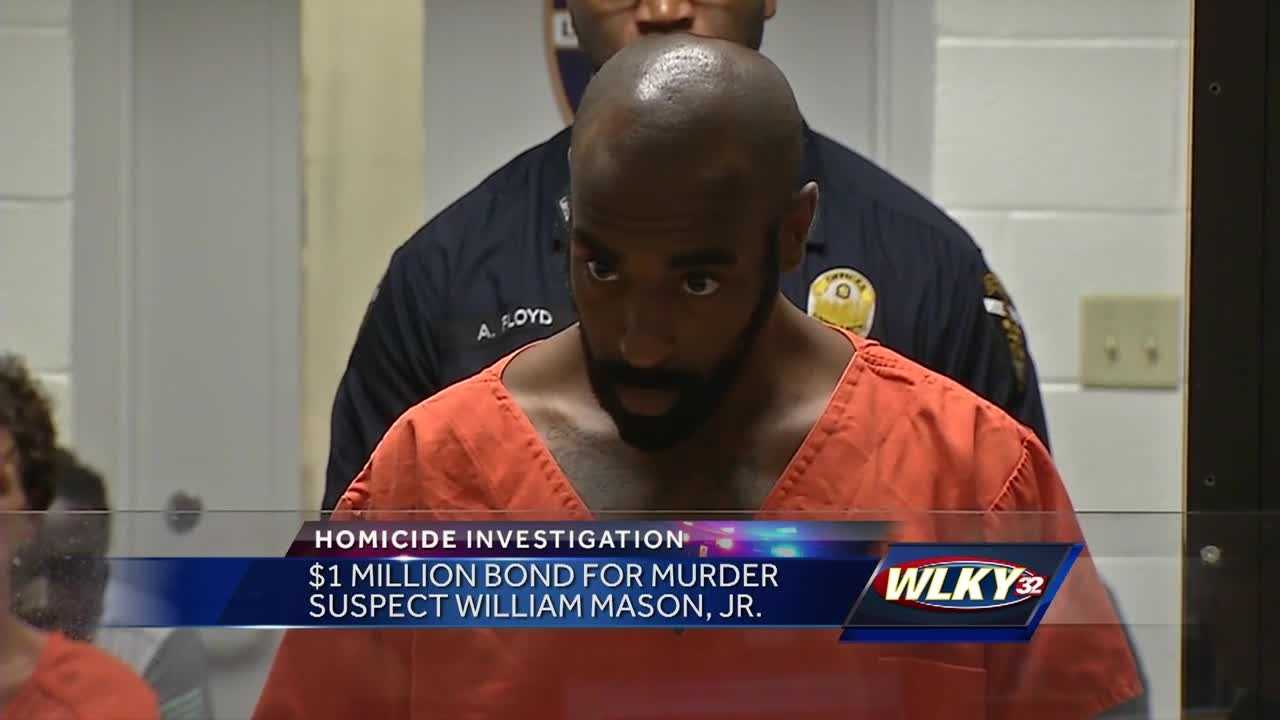 A $1 million bond has been set for a man accused in at triple slaying.