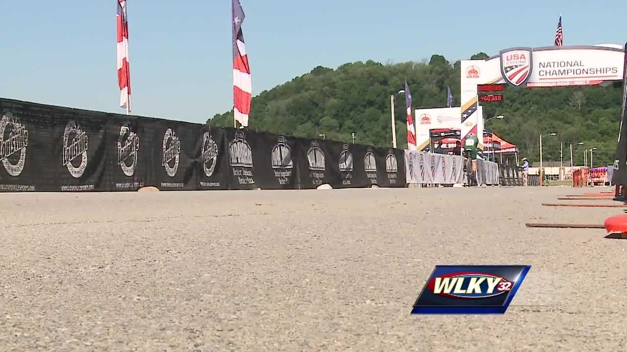The USA cycling 2016 amateur road national championships got underway Wednesday morning at Spencer County High School.