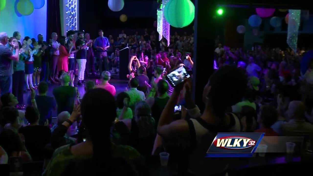 Several survivors of the Orlando massacre were in Louisville Thursday, raising money for the victims of the mass shooting.