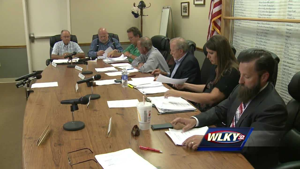 With less than six hours before a forced county government shut down, Spencer County passed its budget.