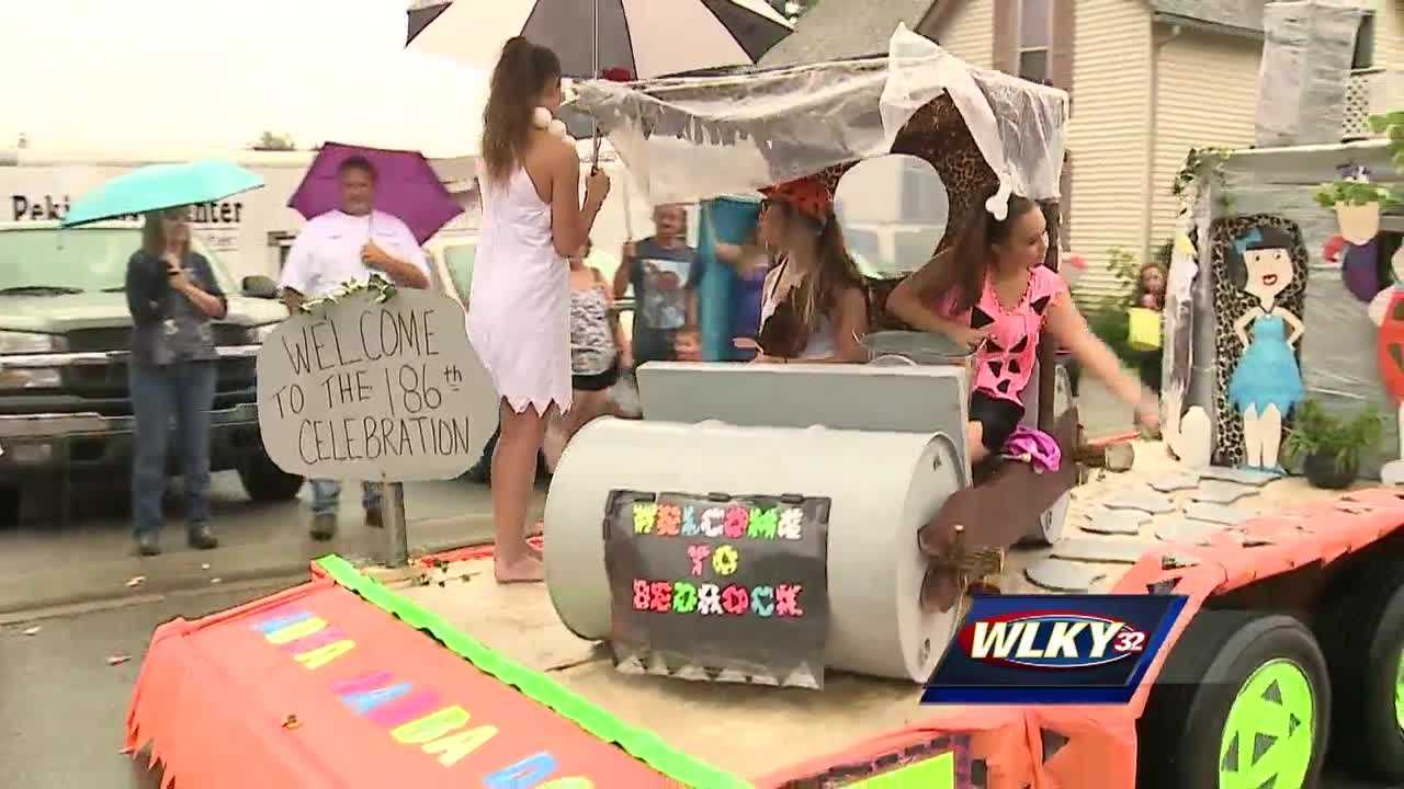 While the rain put a damper on many people's holiday plans, there was no stopping the oldest consecutive Fourth of July celebration in the country.