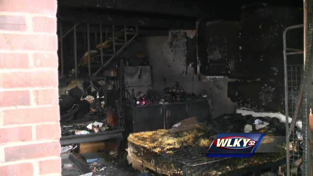 Fire officials said it's too early to call the fire suspicious, but arson teams are investigating.