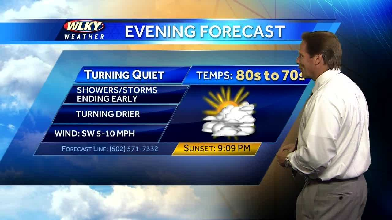 WLKY's Jay Cardosi has your updated forecast