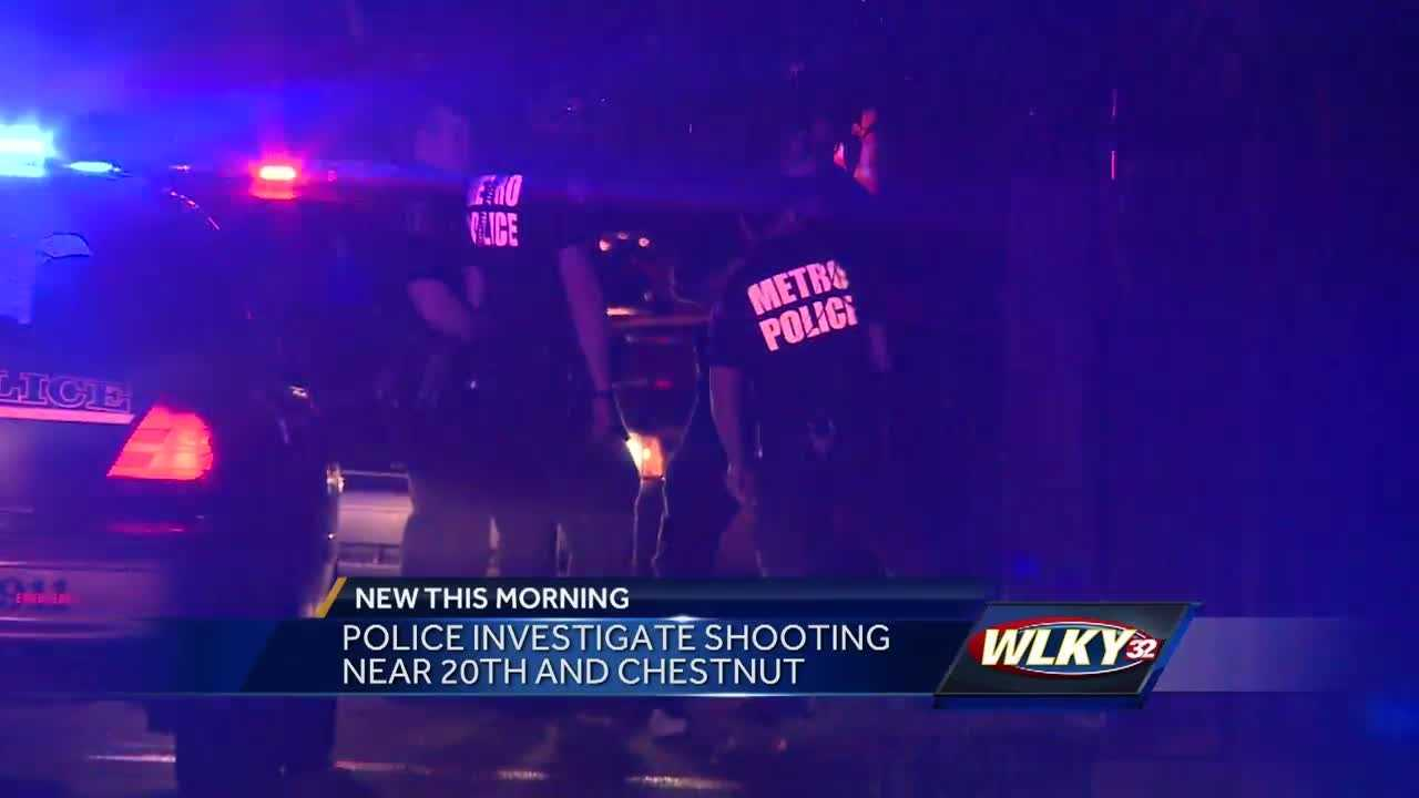 Metro police are investigating a shooting in west Louisville that sent one person to the hospital.