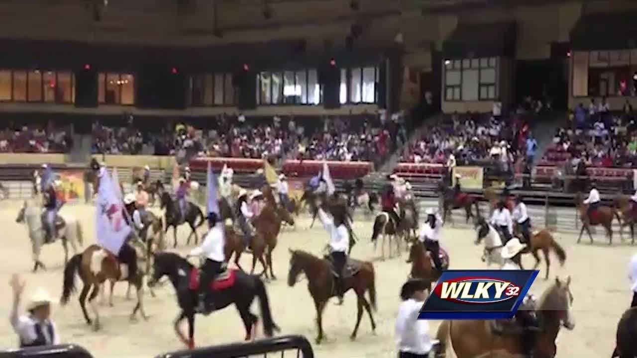 It's a first for Louisville, Freedom Hall and hundreds of rodeo riders from around the nation.