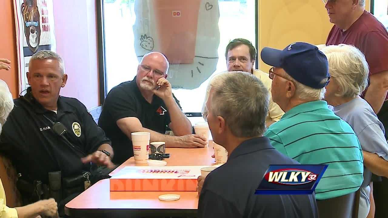 Coffee with a Cop is an opportunity for residents to meet with Louisville police officers over a cup of coffee.