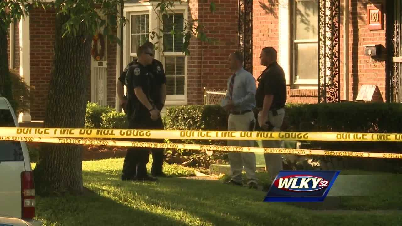 A homeowner shot a man who he said was breaking into his house on Friday.