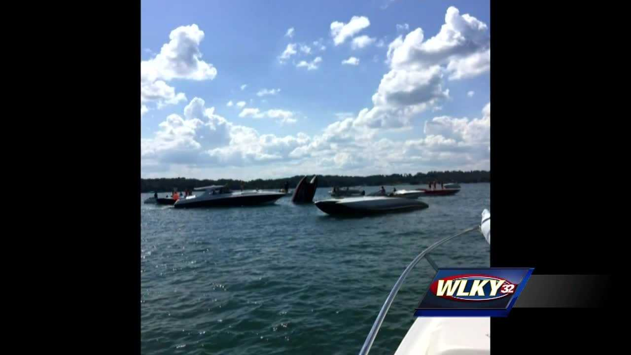 According to our CBS affiliate, the bodies of two people from Kentucky were recovered from Lake Lanier after their boat overturned Friday.