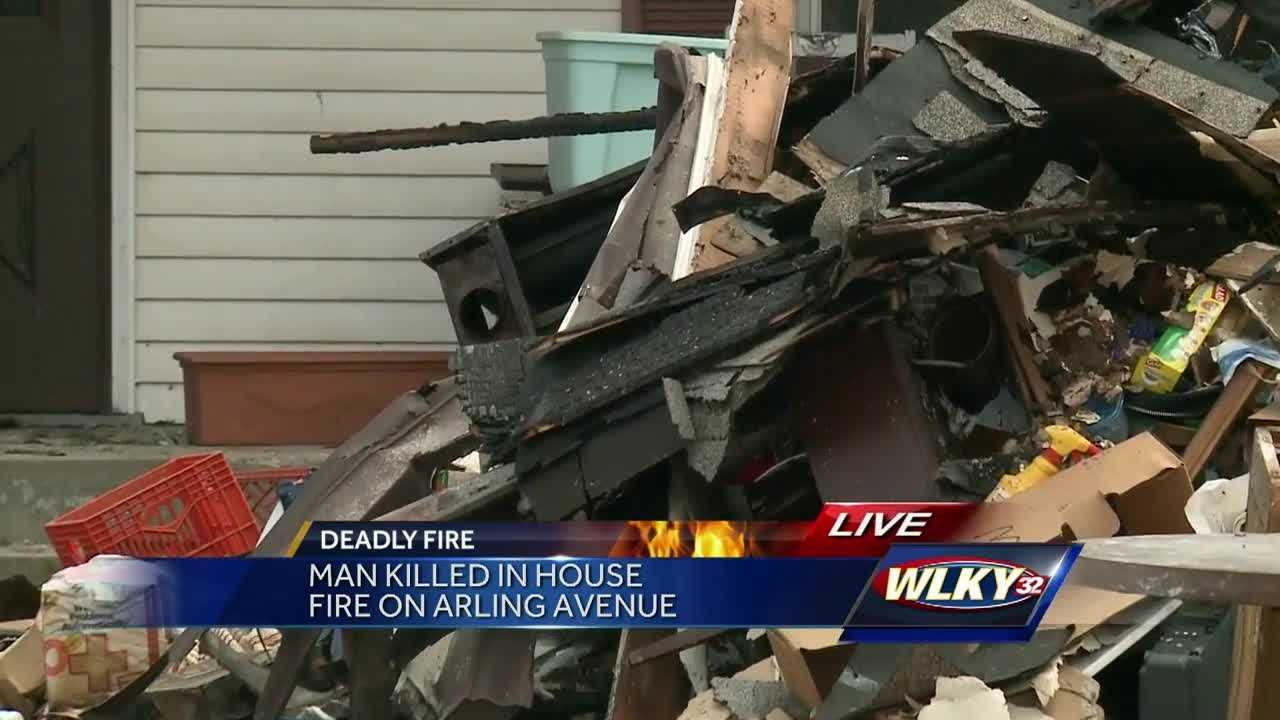 A man is dead after an early morning house fire Wednesday near Taylor Boulevard, in the Iroquois neighborhood.