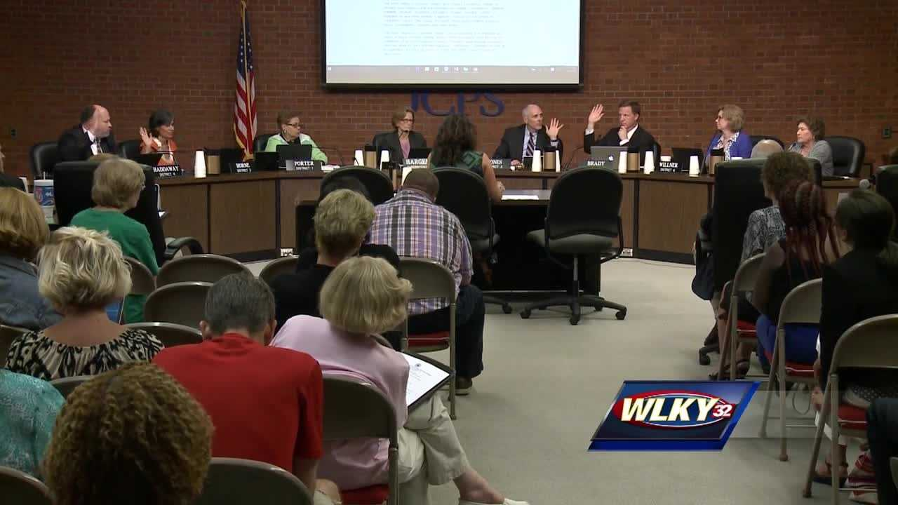 Board members voted on the measure at Tuesday's meeting, following input from several speakers.