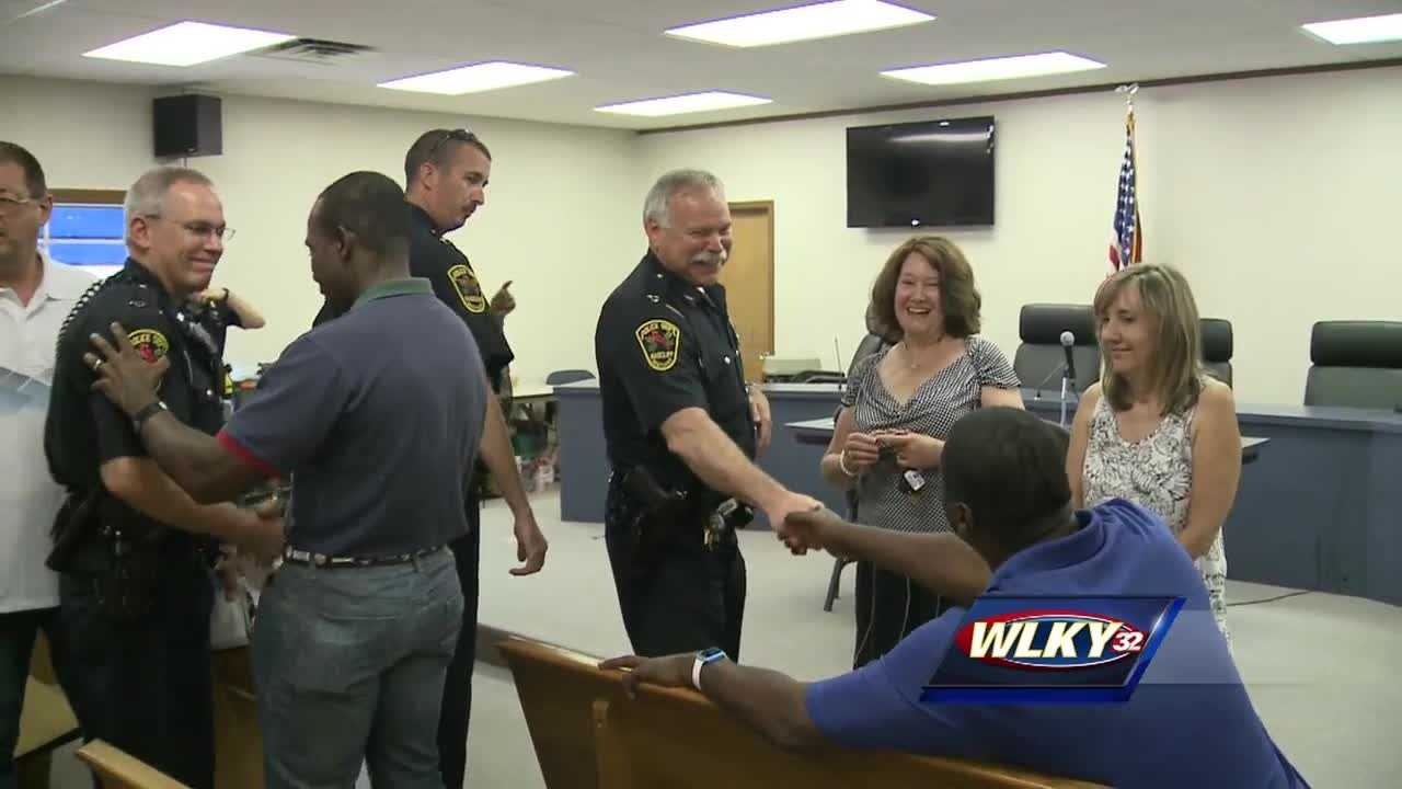 There's a campaign getting underway in Radcliff, Kentucky,  to strengthen ties between the police and everyday people.