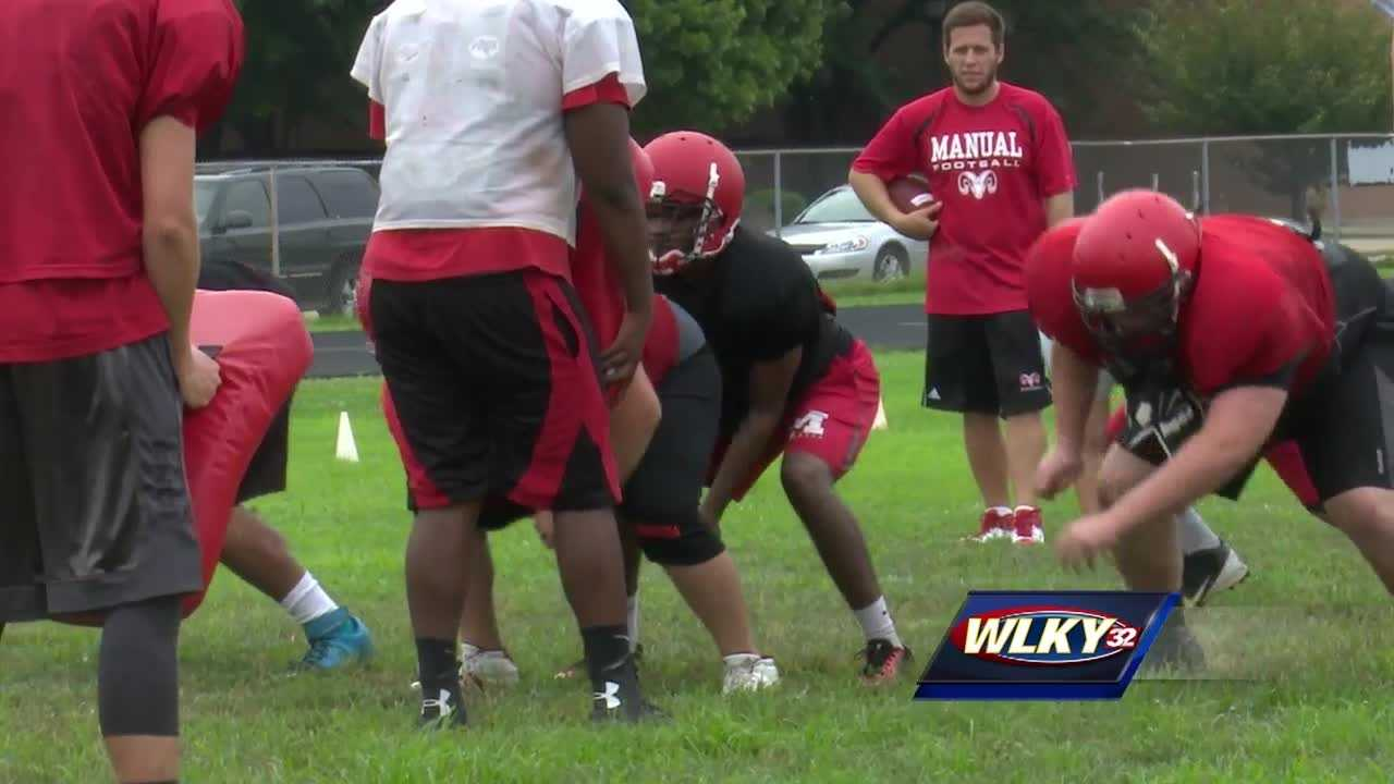 The new football season always means new hope for high school teams, and this year at Manual, there's a new coach in charge, Scott Carmony.