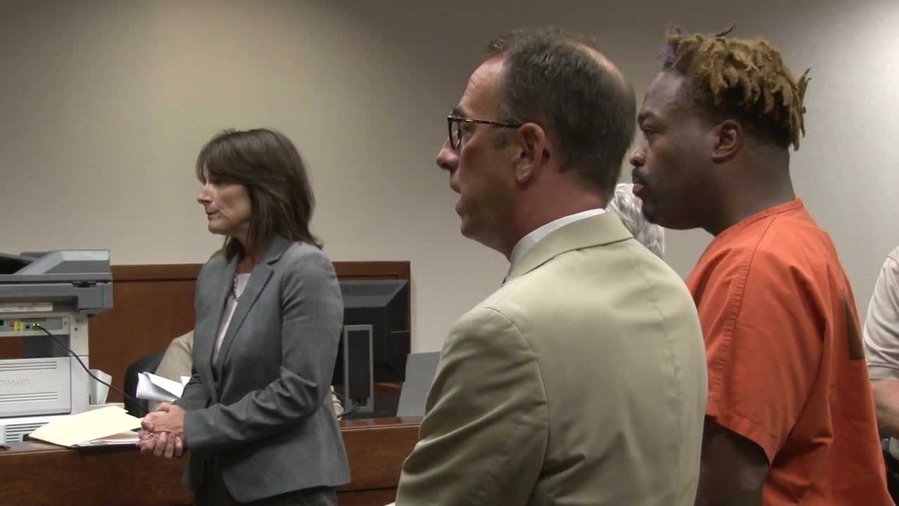 A Black Lives Matter activist and local radio host told a Jefferson County judge Tuesday morning he's not guilty of driving a stolen car.