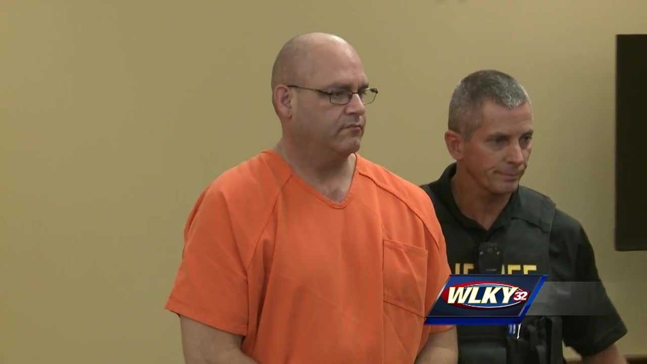 The man charged with the murders of a missing northern Kentucky couple appears in court Wednesday for his circuit arraignment.