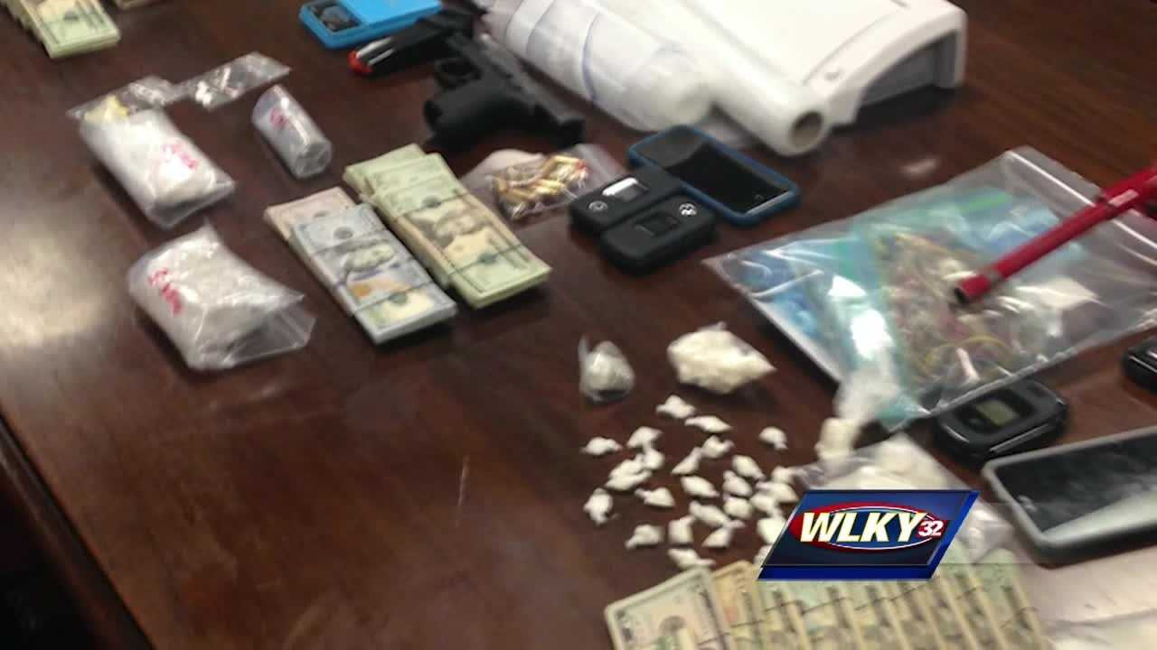 Five people have been charged, and an estimated $50,000 worth of illegal drugs are off the streets after an investigation by the Jeffersontown police.