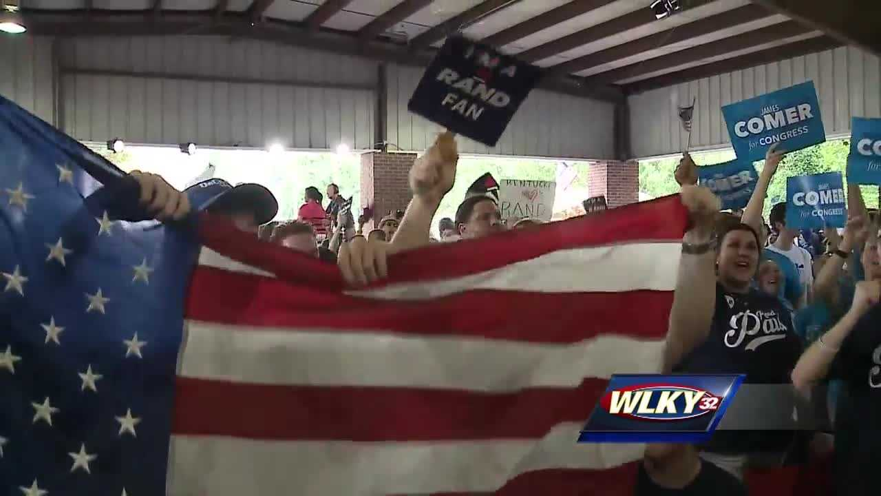 Democrats and Republicans fired put-downs and criticisms at each other Saturday at the annual Fancy Farm picnic in western Kentucky.