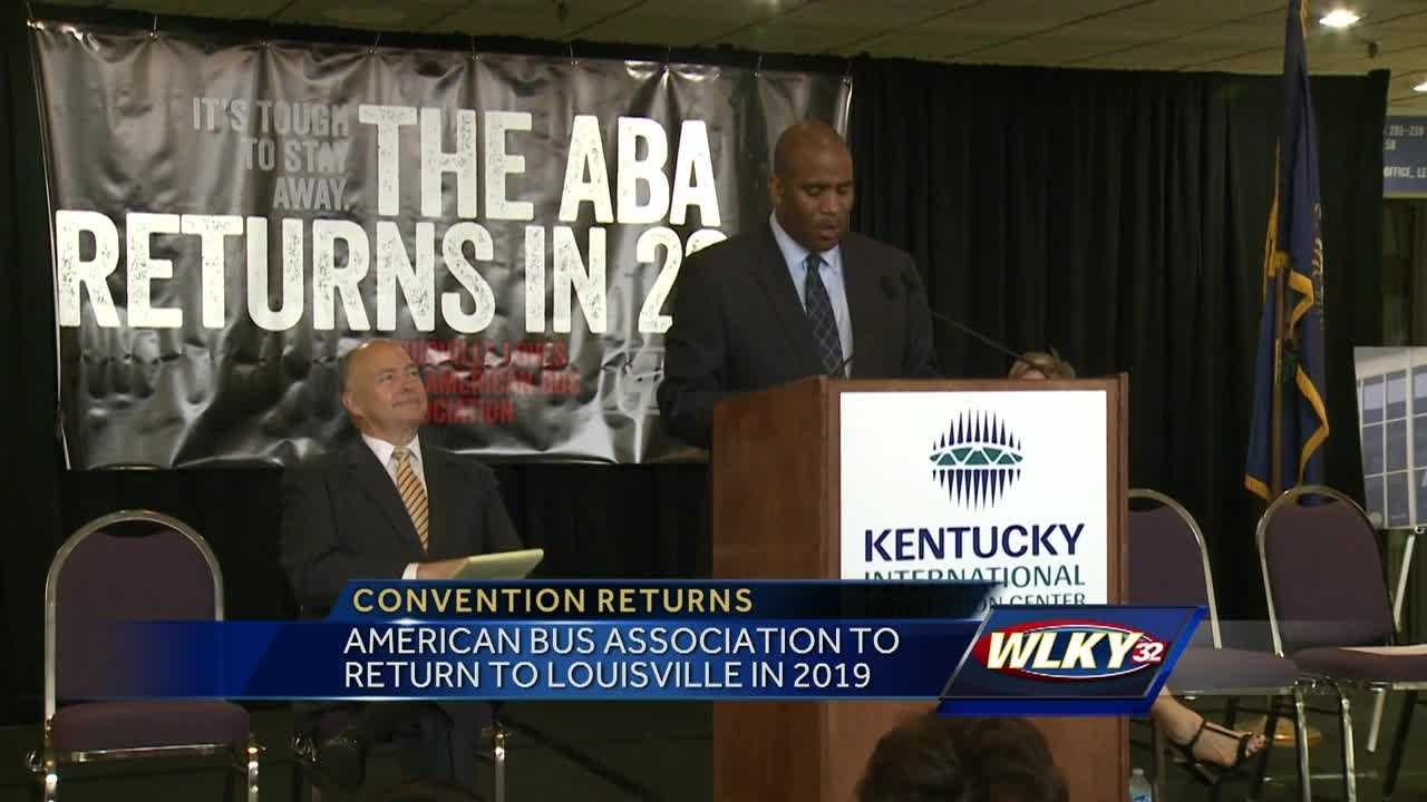 A major convention will return to Louisville, bringing millions of dollars to the local economy.