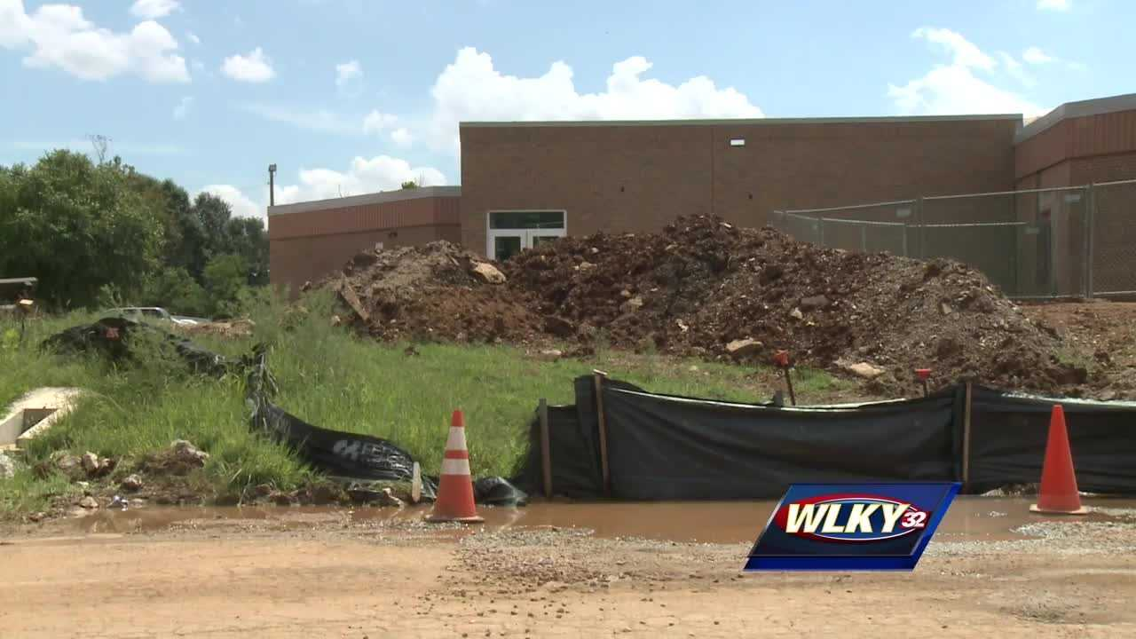 Maryville Elementary ran into an unexpected problem during construction.